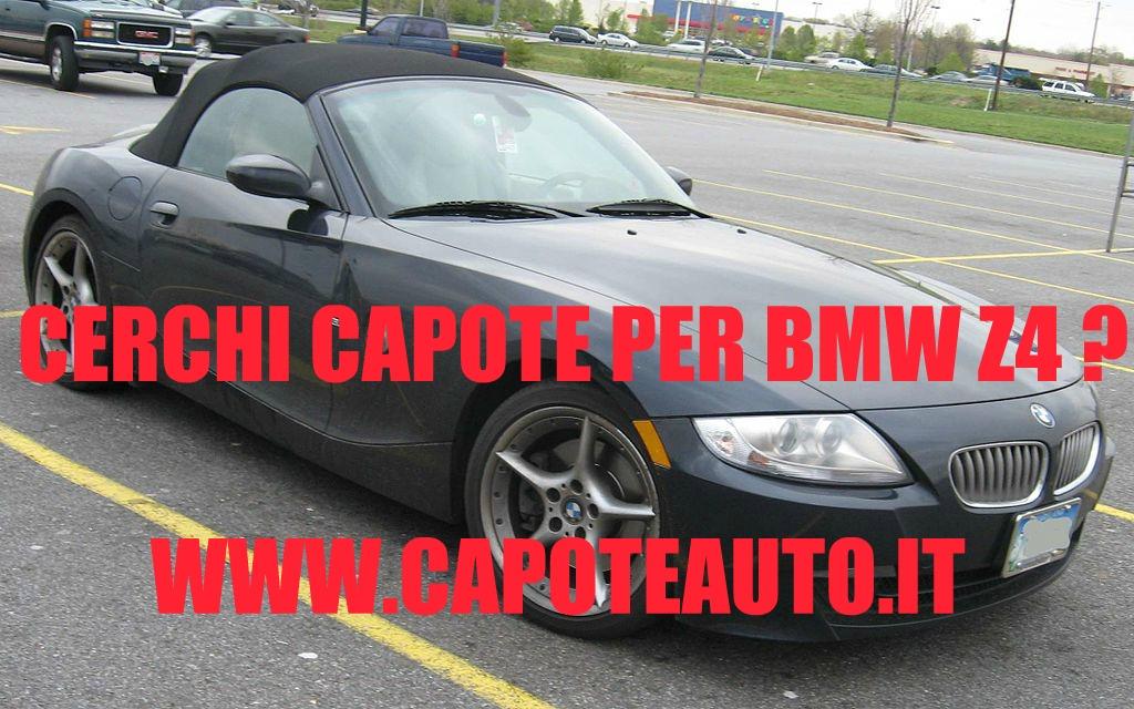capote cappotta capotta bmw Z4 cabriolet accessori ricambi  twillfast nero con lunotto in vetro vendo compro usata