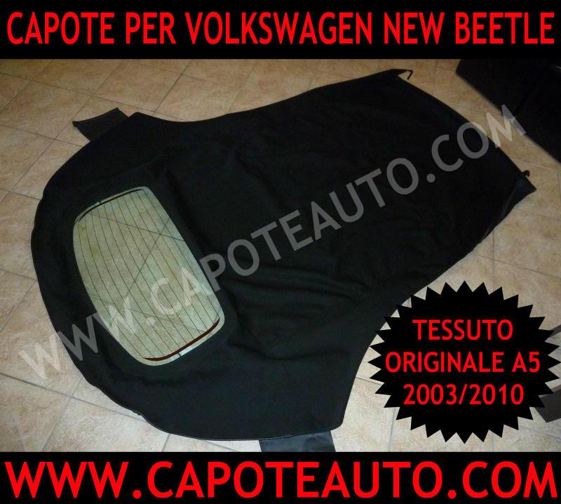vendita fabbrica capote auto cappotte volkswagen new beetle maggiolone nuovo