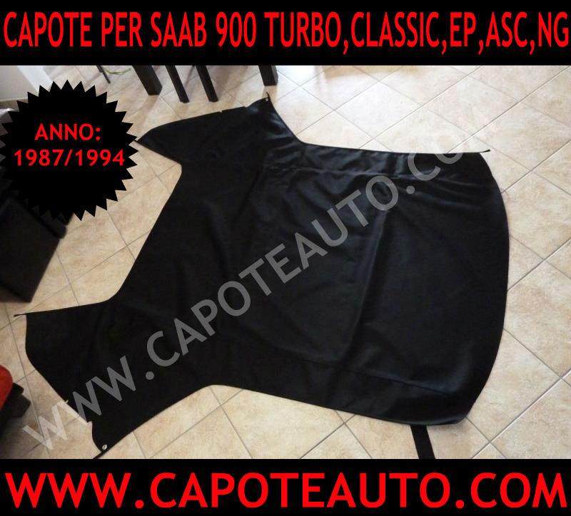 capote cappotte auto cappotta saab cabrio cabriolet 900 turbo classic ng ep asc