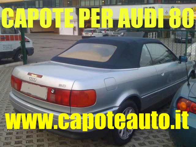 capote audi 80 1992 1999 www.capoteauto.it sonnenland colorato lunotto
