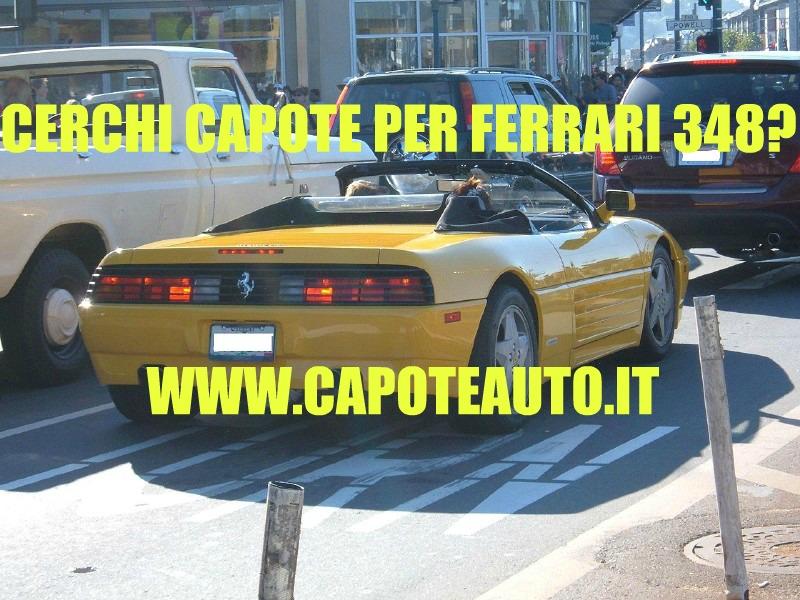Capote cappotta capotta Ferrari 348 spider twillfast nero 1993 1994 1995 ricambi accessori vendo compro usata
