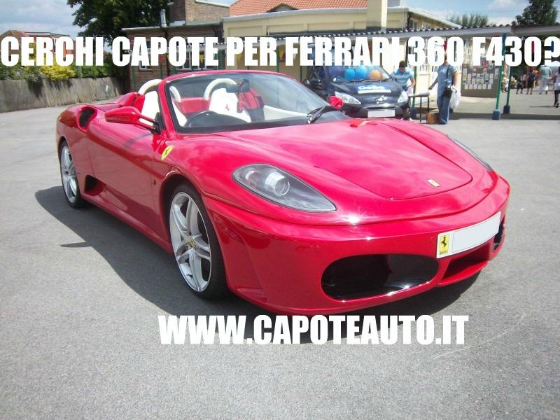 Capote cappotta capotta Ferrari 360 F430 spider twillfast nero 1995 1999 ricambi accessori vendo compro usata