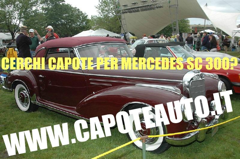 capote cappotta capotta mercedes sc 300 ali di gabbiano spider cabrio cabriolet ricambi accessori vendo compro usata