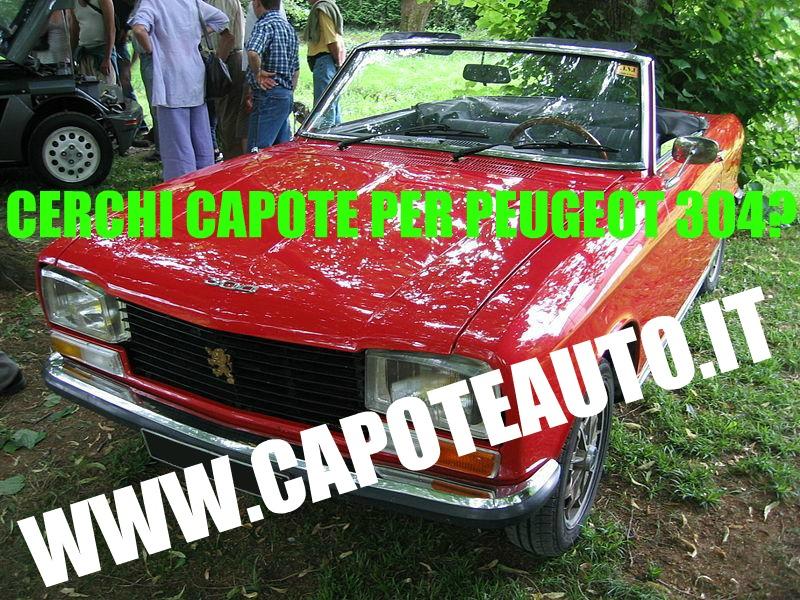 capote cappotta capotta peugeot 304 spider cabrio cabriolet ricambi accessori vendo compro usata