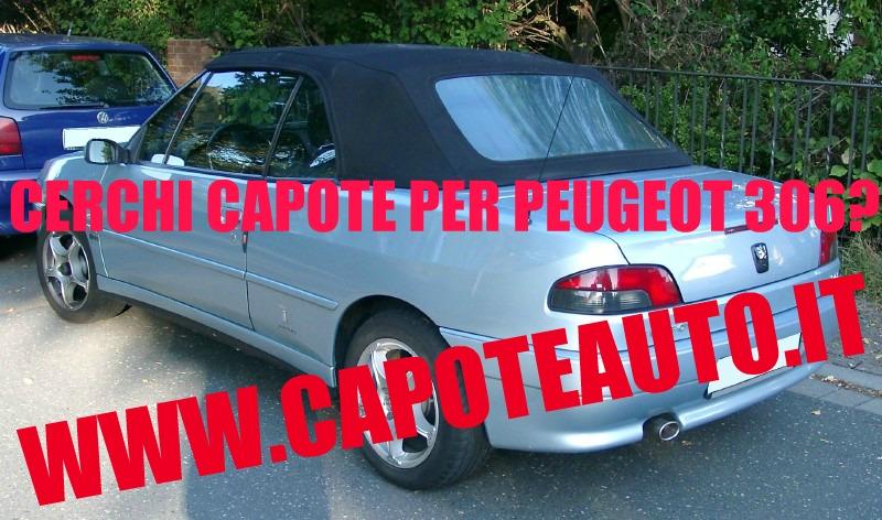 capote cappotta capotta peugeot 306 spider cabrio cabriolet ricambi accessori vendo compro usata