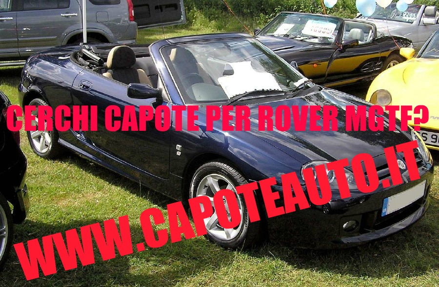 capote cappotta capotta rover mgtf mgf spider cabrio cabriolet ricambi accessori vendo compro usata