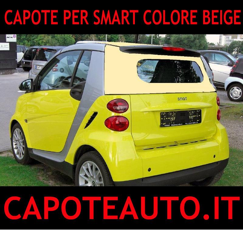 capote cappotta capotta colorata smart spider beige cabrio cabriolet ricambi accessori vendo compro usata