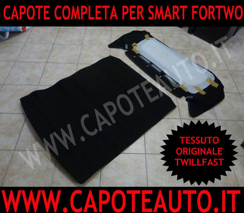 cappotta cappottina capota capotte cappotte capote auto smart cabrio fortwo prima serie