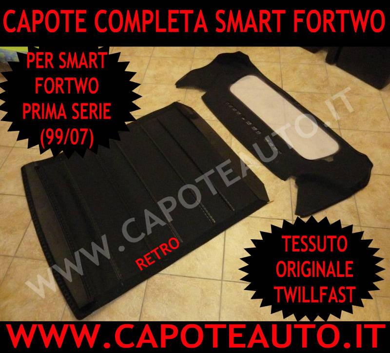 capote smart W450 completa prima serie fortwo cappotta originale