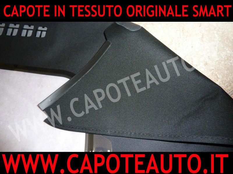 capotta capote smart cabriolet cabrio prima serie in tessuto originale con lunotto auto