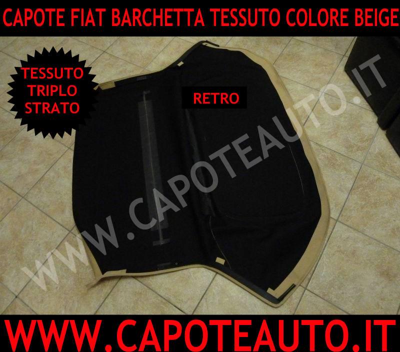cappotta cappottina capota capote fiat barchetta auto cabrio tessuto  italia torino pisa
