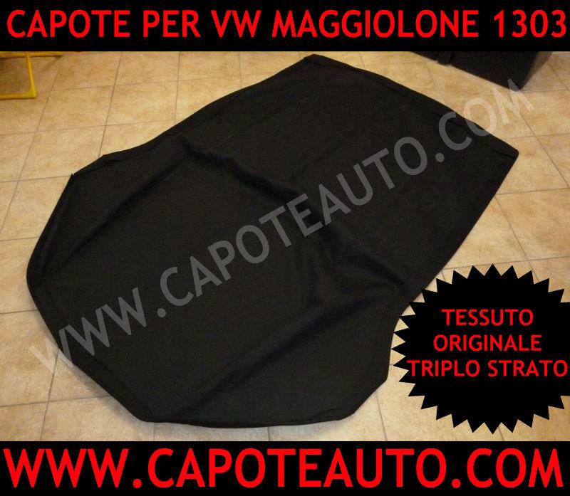 cappotta capota capote cappottina Volkswagen Maggiolone 1303 cabrio maggiolino seconda serie epoca