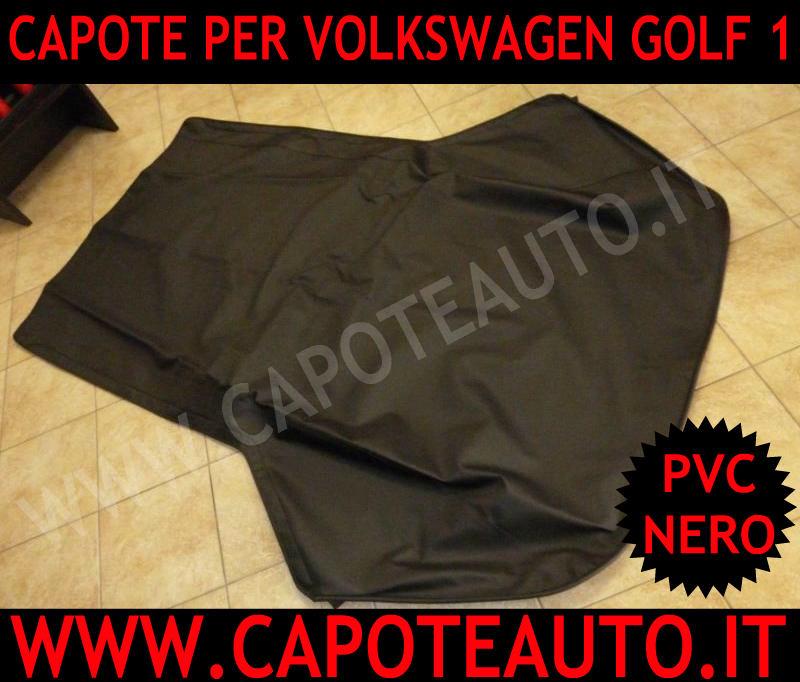 vendo cappotta capota capota Volkswagen VW Golf 1 2 mk1 mk2 pvc nero