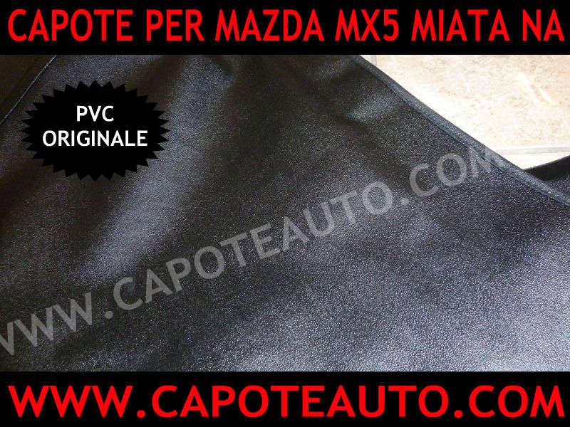 cappotte auto mazda mx5 miata na con lunotto zippato con zip