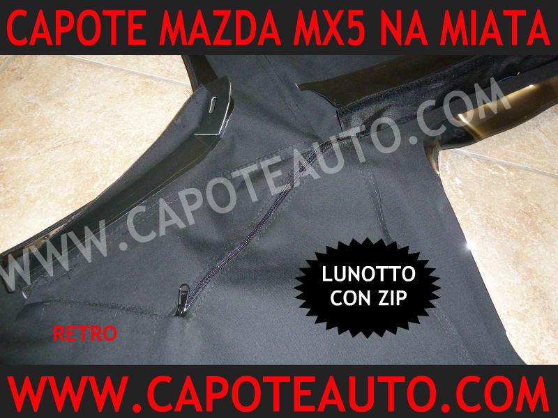 cappottina miata mx5 mazda capote originale nera beige nero